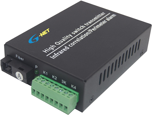1-2CH Forward Contact Closure (Normal Open), Single Fiber, Multi-Mode, 1310nm, 2KM, FC
