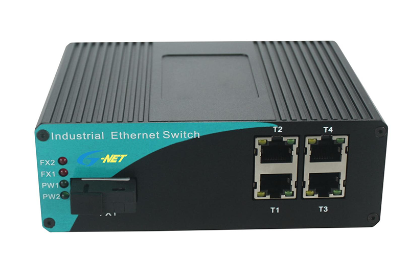Unmanaged 4-port 10/100/1000M Industrial POE PSE Switch