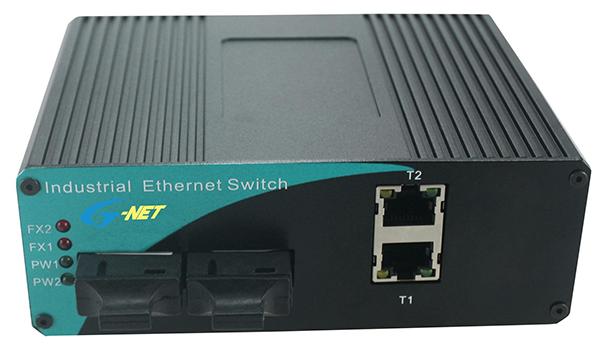 10/100M Industrial Switch. 2 fiber port