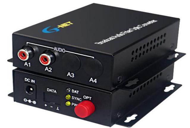 AUDIO Converter Fiber HHD-G1A