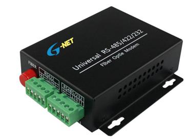 RS422/RS485/RS232 Fiber Modem G-3D-FC20T/R