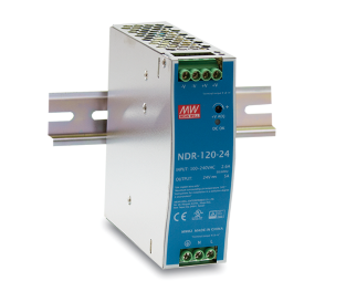 Din Rail Industrial Power Supply MEAN WELL 120W DC48V/2.5A