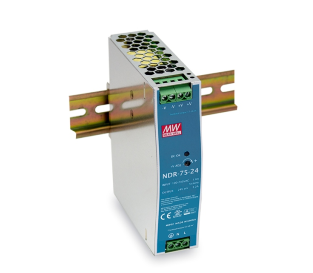 Din Rail Industrial Power Supply MEAN WELL75W DC48V/1.6A